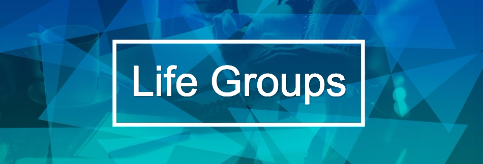 Life Groups Christian Website Banner